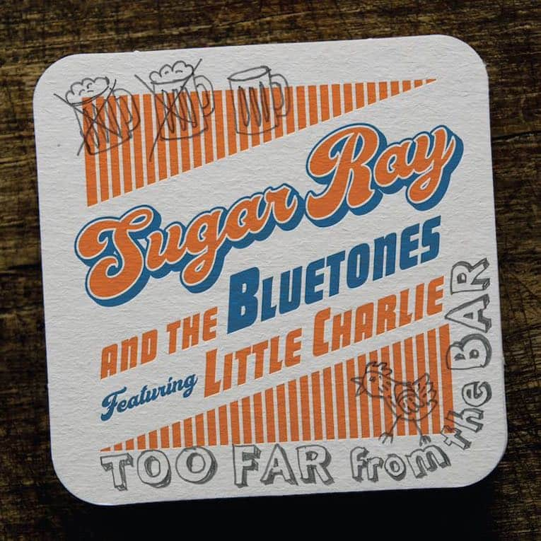 Sugar Ray and the Bluetones featuring Little Charlie Baty Too Far from the Bar album cover