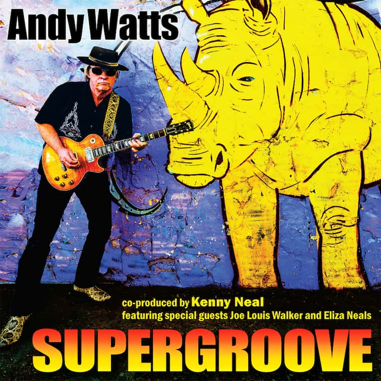 Andy Watts Supergroove album cover