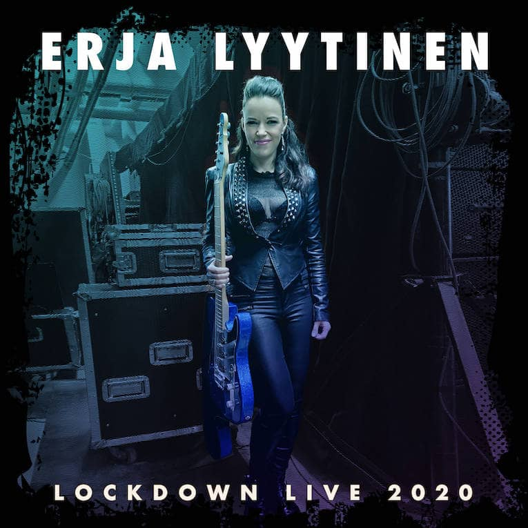 Erja Lyytinen Lockdown Live 2020 album cover