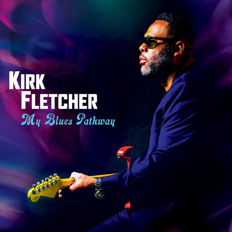 Kirk Fletcher My Blues Pathway album cover
