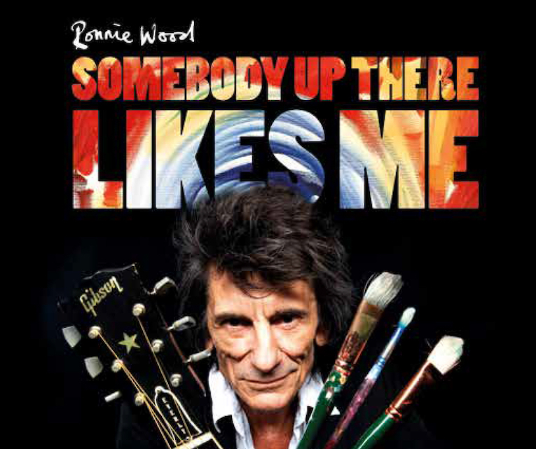 Ronnie Wood: 'Somebody Up There Likes Me' Virtual Cinema Release movie poster