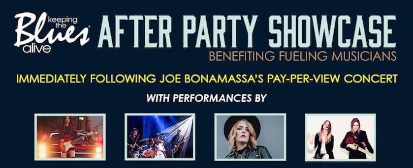 Joe Bonamassa After Party Showcase