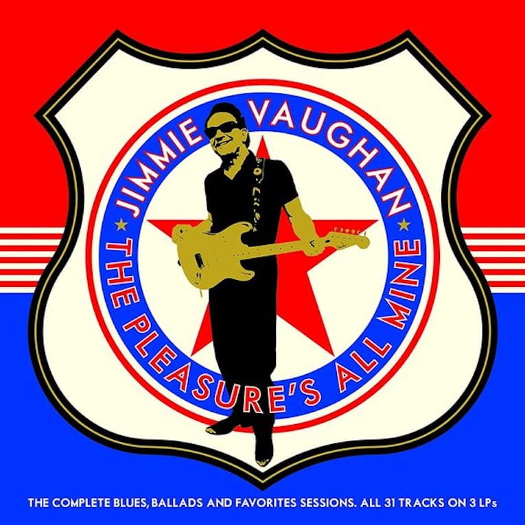Jimmie Vaughan The Pleasure's All Mine album cover