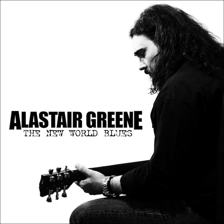 Alastair Greene The New World Blues album cover