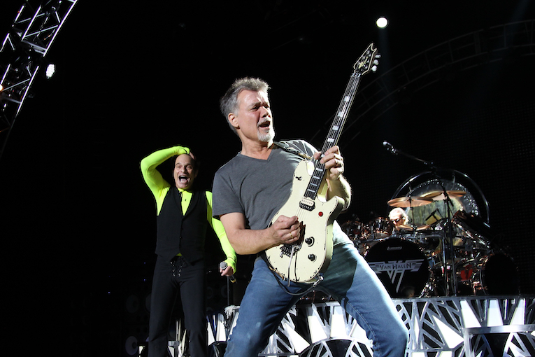 Eddi Van Halen photo