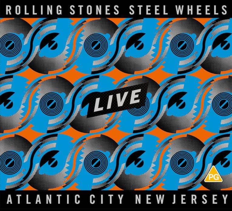 The Rolling Stones Steel Wheels Live cover
