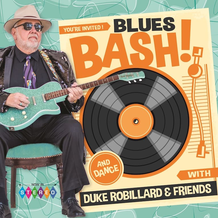 Blues Bash with Duke Robillard & Friends by Duke Robillard album cover