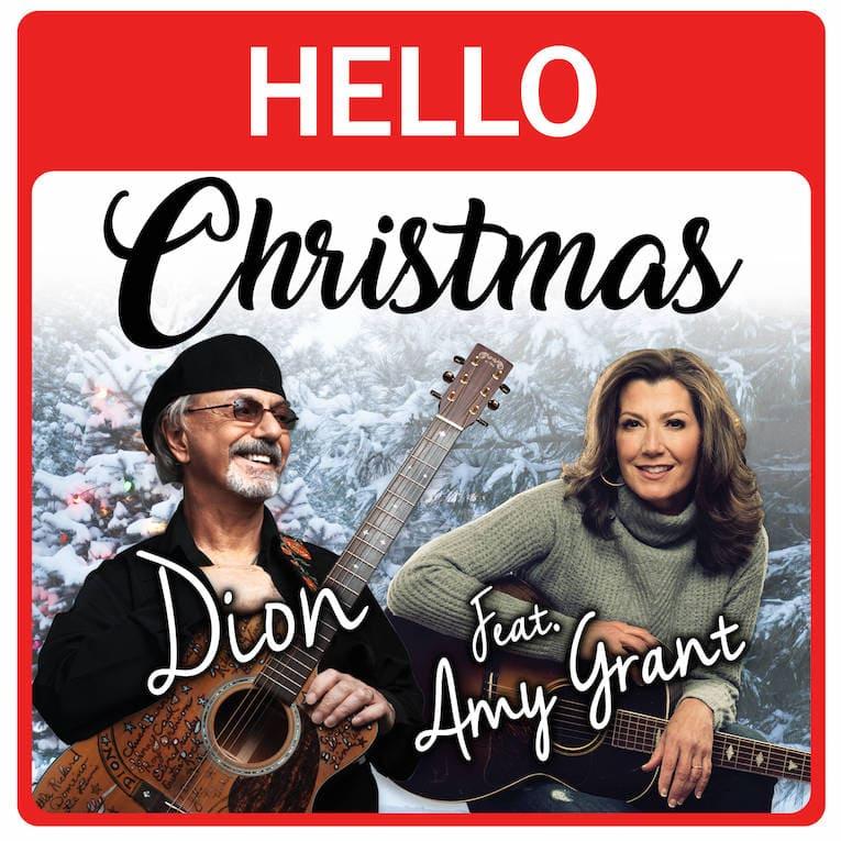 Dion Hello Christmas song artwork