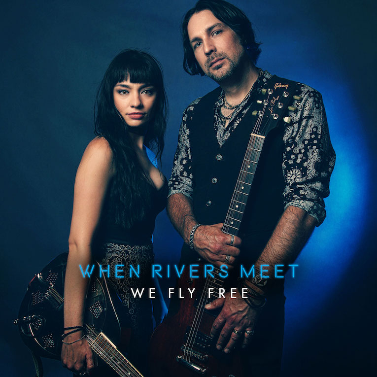 When Rivers Meet We Fly Free album cover