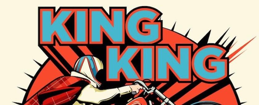 King King Maverick album cover