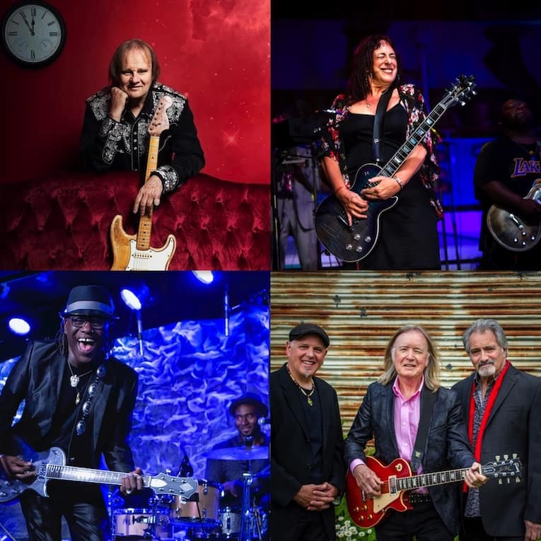 Five Favorite Artist Interviews of 2020 Rock and Blues Muse Walter Trout, Kim Simmonds Joanna Connor Joe Louis Walker Bobby Rush photos