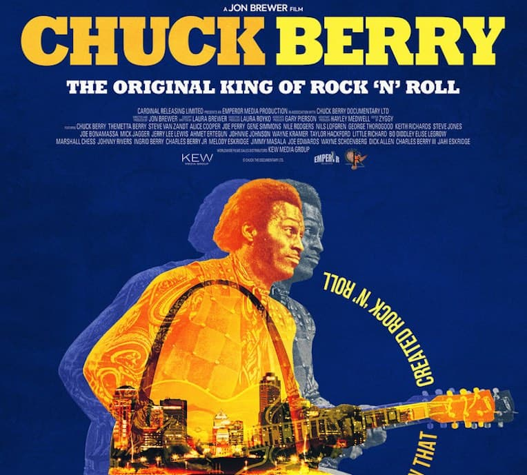 Chuck Berry The Original King of Rock N' Roll Documentary poster