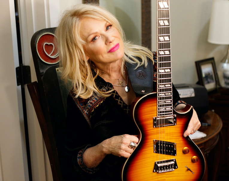 Nancy Wilson Epiphone Fanatic guitar photo