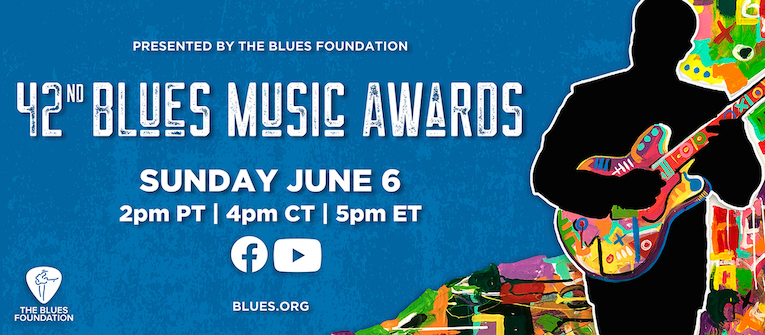 42nd Blues Music Awards Nominees Announced flyer