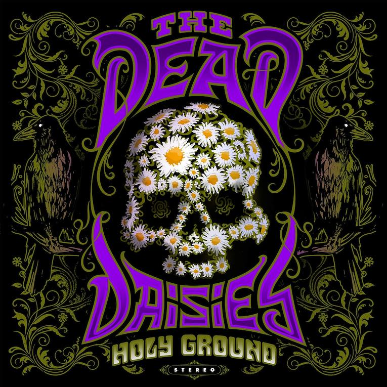 The Dead Daisies Holy Ground album cover