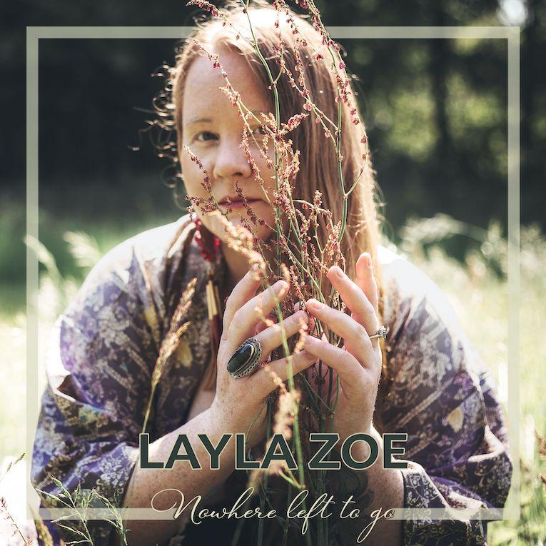 Layla Zoe Nowhere Left To Go album cover