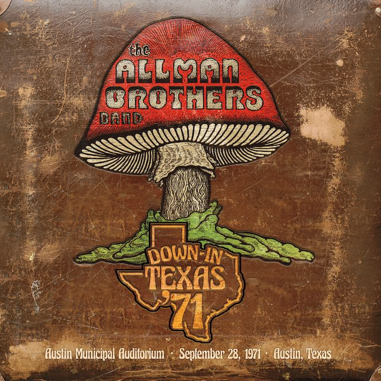 The Allman Brothers Band Down In Texas '71 album cover