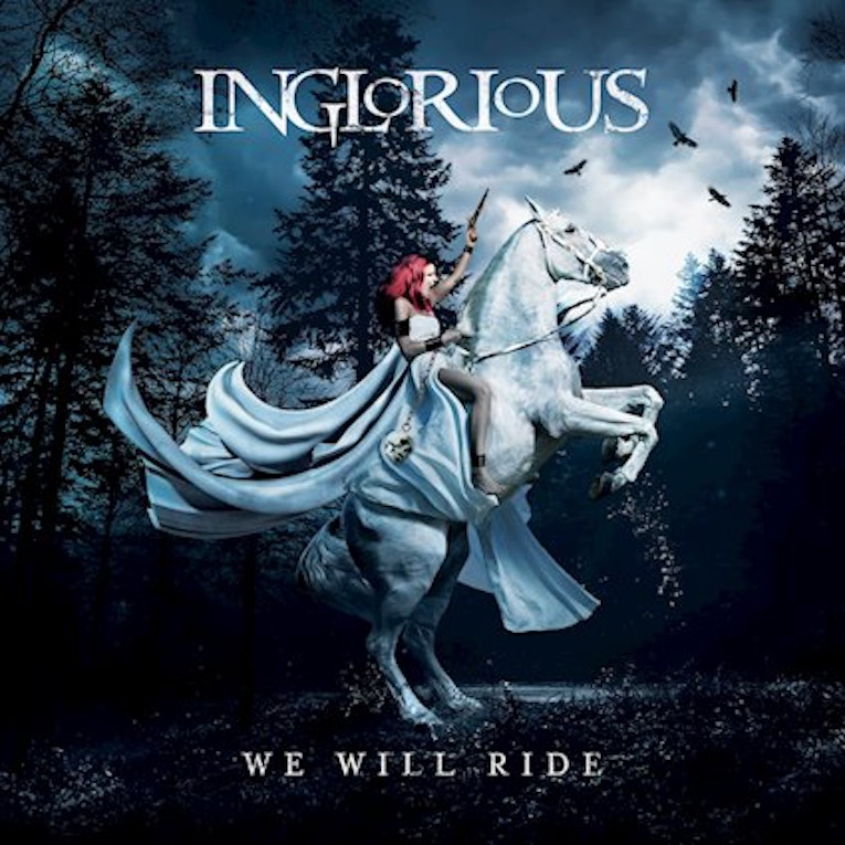 Inglorious We Will Ride album front cover
