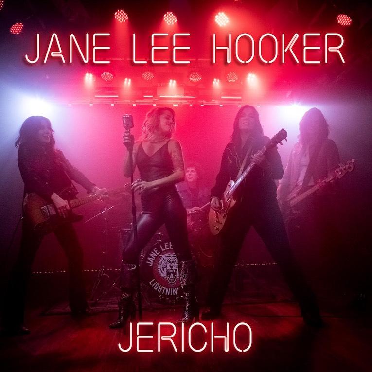 Jane Lee Hooker 'Jericho' single cover