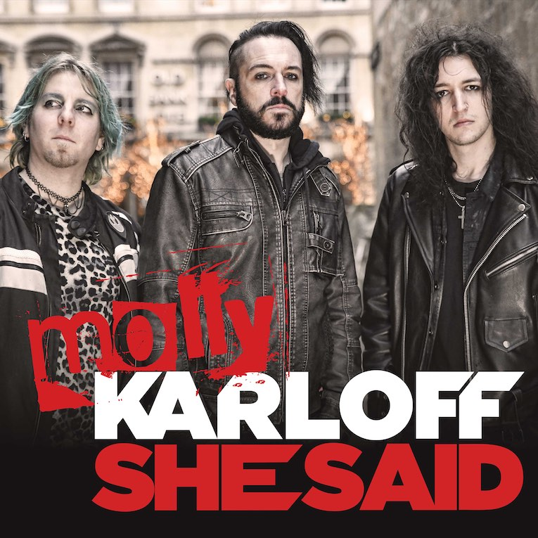 Molly Karloff She Said single cover