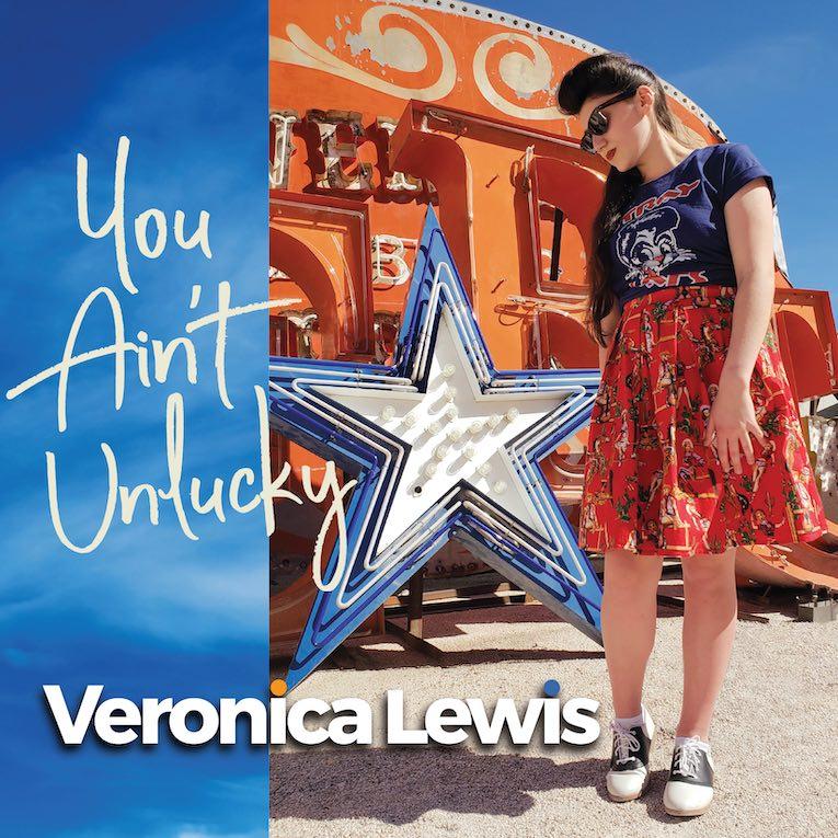 'You Ain't Unlucky' Veronica Lewis album cover