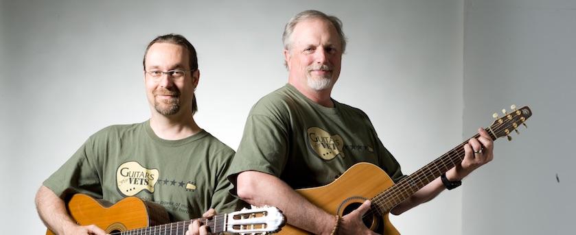 Patrick Nettesheim Guitars for Vets