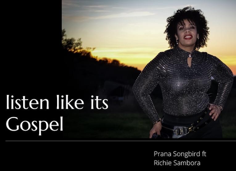 Prana Songbird Listen Like It's Gospel single cover