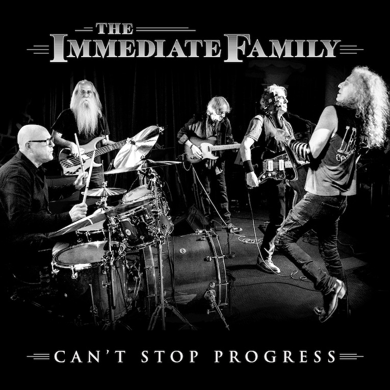 The Immediate Family Can't Stop Progress single cover