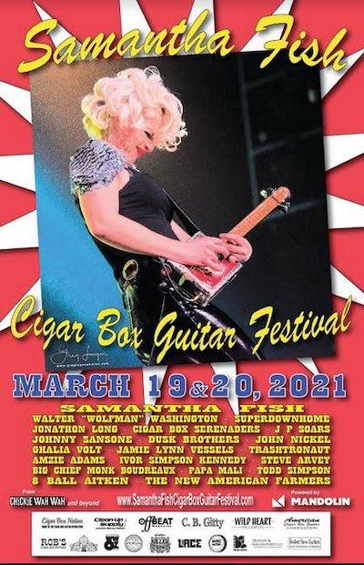 Samantha Fish International Guitar Box Festival flyer