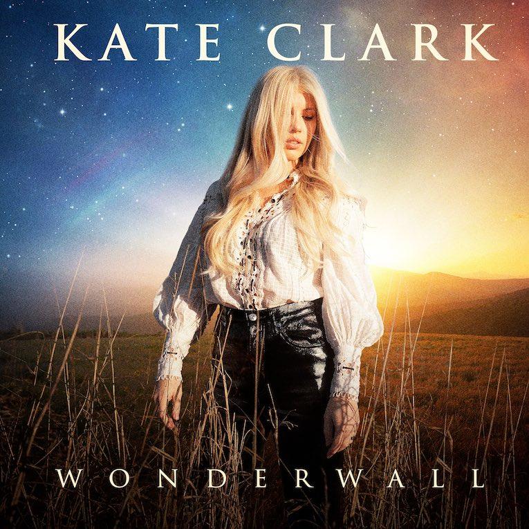Kate Clark Wonderwall single cover