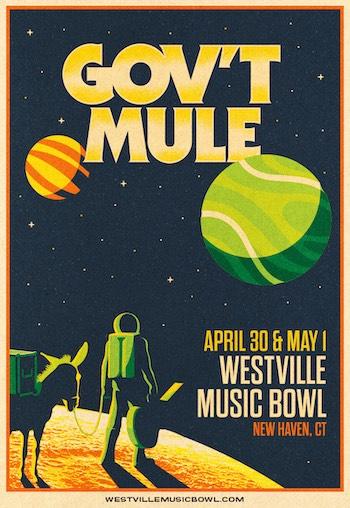 Gov't Mule concert flyer