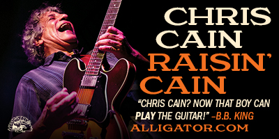 Chris Cain - Raising Cain, Alligator Records