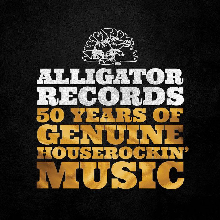 Alligator Records 50 Years of Genuine Houserockin' Music album cover