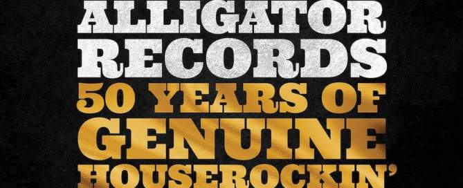 Alligator Records 50 Years of Genuine Houserockin' Music album cover
