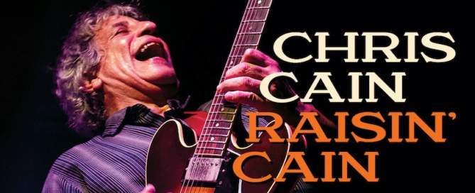 Chris Cain Rainin' Cain album cover