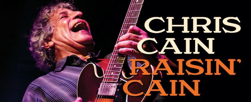 Chris Cain Rainin' Cain album cover