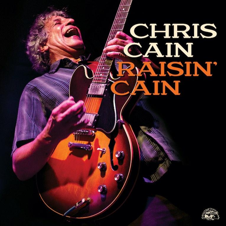 Chris Cain Raisin' Cain album cover