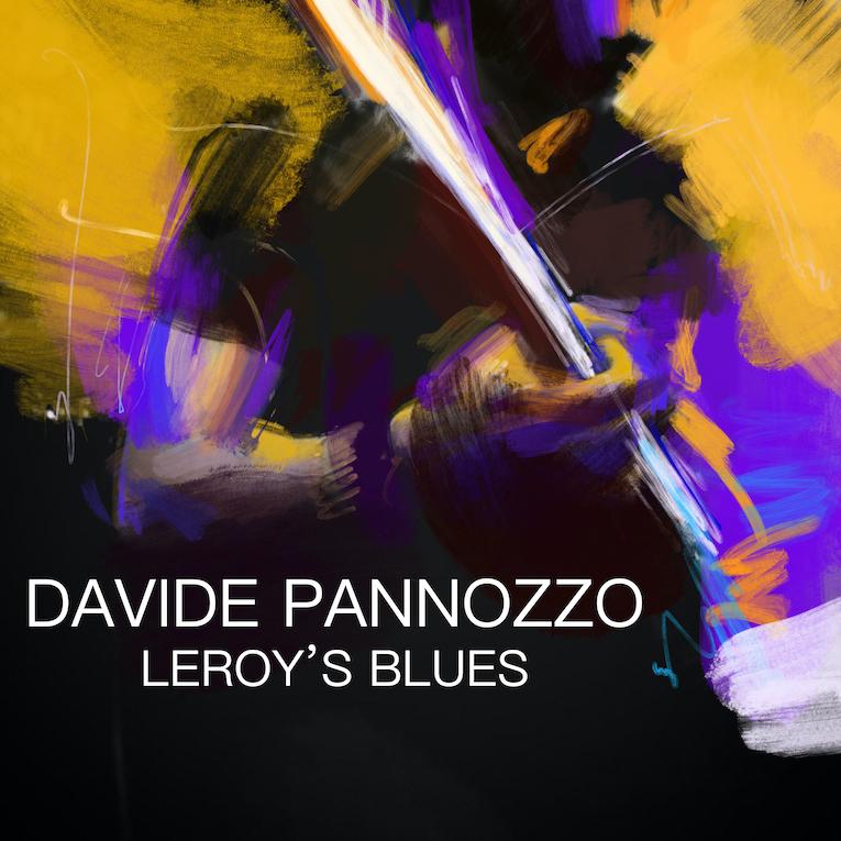 "Davide Pannozzo ""Leroy's Blues"" single cover"