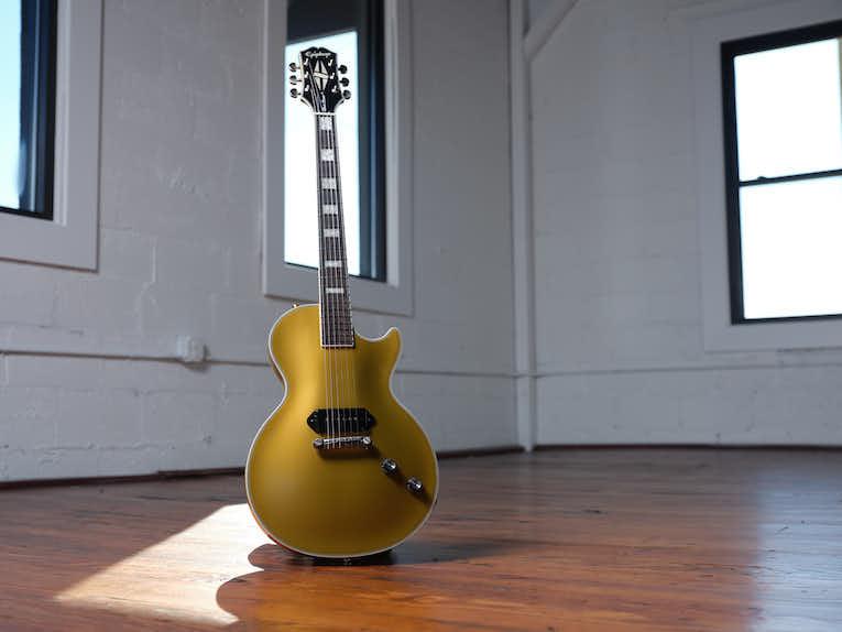 "Epiphone Jared James Nichols ""Gold Glory"" Les Paul Custom photo"