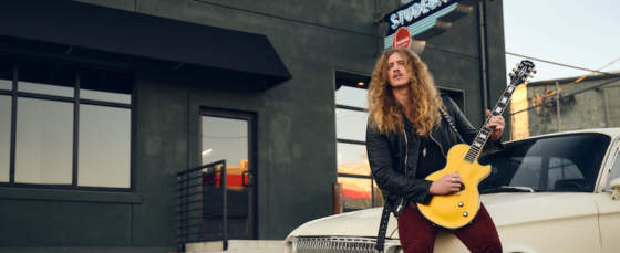 Jared James Nichols Debuts 'Gold Glory' Les Paul Custom Available Worldwide Watch Video