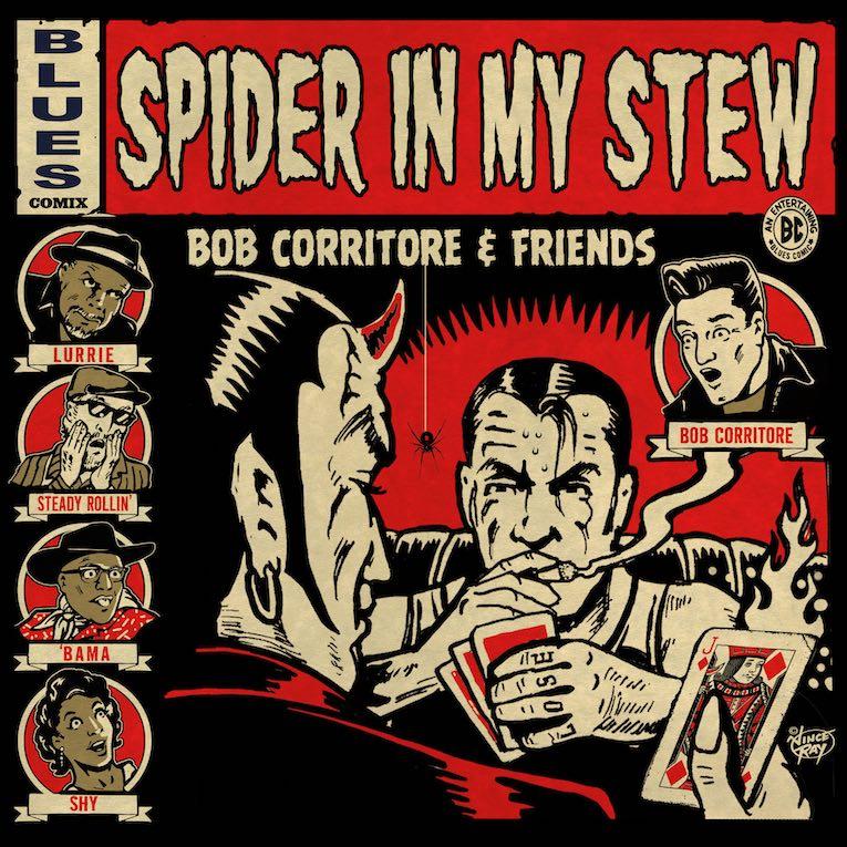 'Spider In My Stew' Bob Corritore & Friends album cover