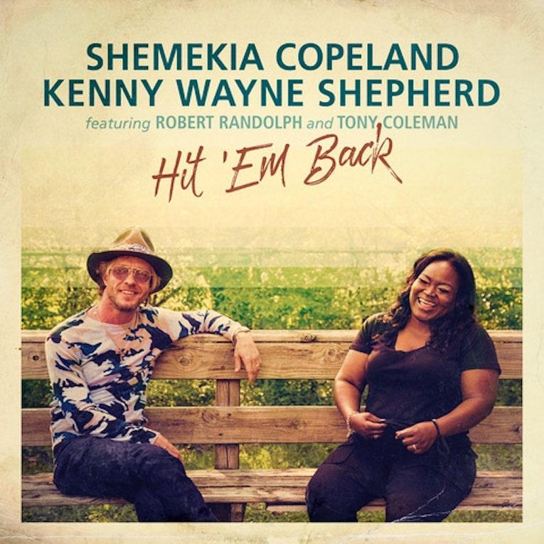 Shemekia Copeland & Kenny Wayne Shepherd new single 'Hit 'Em Back' singe cover