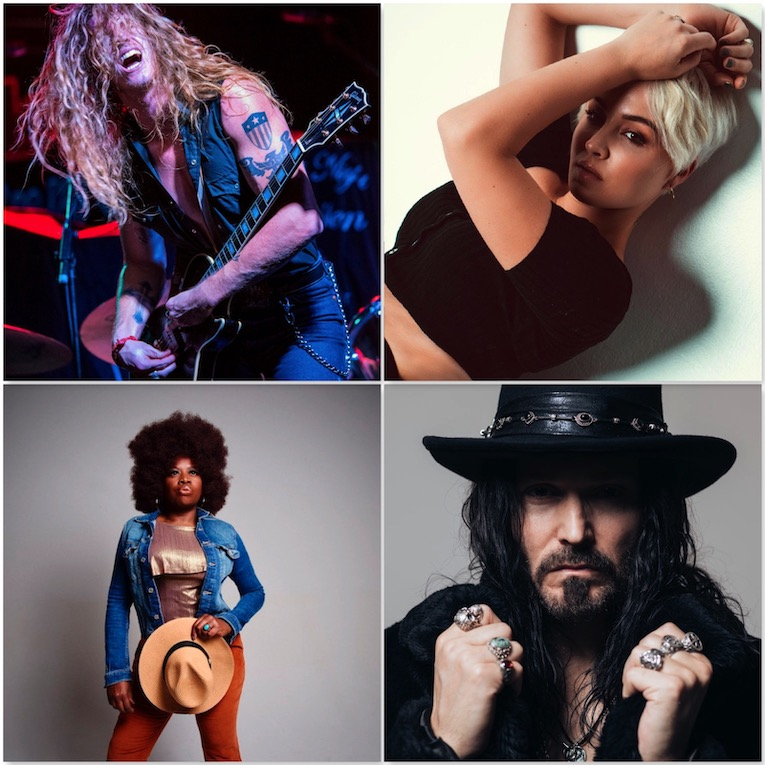 10 Hot New Blues-Rock and Rock Songs For Your Breakout Summer 2021 by Martine Ehrenclou images