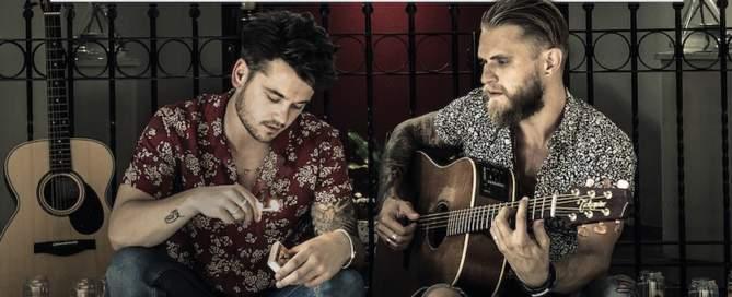Ben Poole & Guy Smeets 'Acoustic Duo Live' album cover